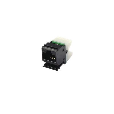 SIEMON - MX6-F01 - Jack MAX UTP Categoría 6 Estilo 110 Montaje Plano Color Negro
