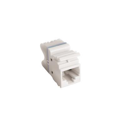 SIEMON - MX6-F02B - Jack MAX UTP Categoría 6 Estilo 110 Montaje Plano Color Blanco Versión Bulk (Sin Empaque Individual)