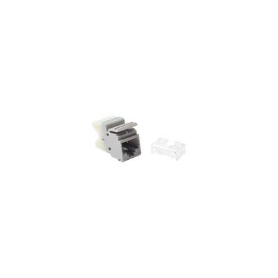 SIEMON - MX6-F04 - Jack MAX UTP Categoría 6 Estilo 110 Montaje Plano Color Gris