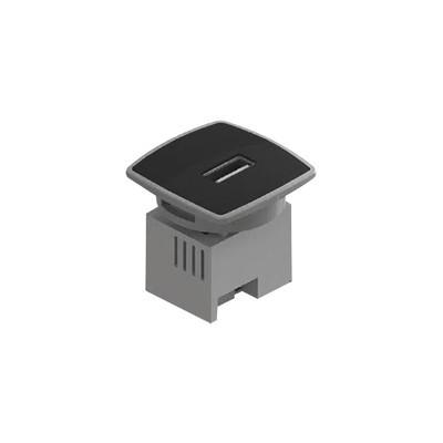 THORSMAN - USB-MINICB - Caja Mini USB Charger color negro 1 puerto USB