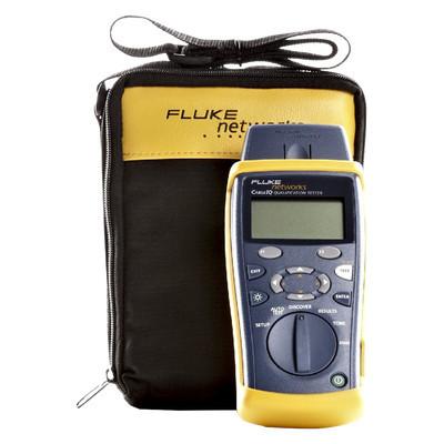 FLUKE NETWORKS - CIQ-100 - Calificador de Red CableIQ? para Medición de Capacidades en Redes 10/100/1000 Base-T y Compatibilidad con VoIP Datos y Vídeo