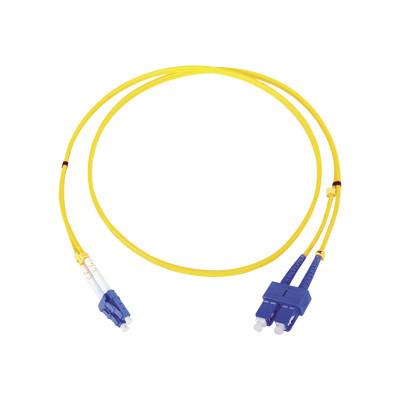 LINKEDPRO - LP-FO-6060B - Jumper de Fibra Óptica Monomodo LC/SC Duplex de 1 metro