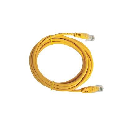 LINKEDPRO - LP-UT3-050-YE - Cable de parcheo UTP Cat5e - 0.5 m - amarillo