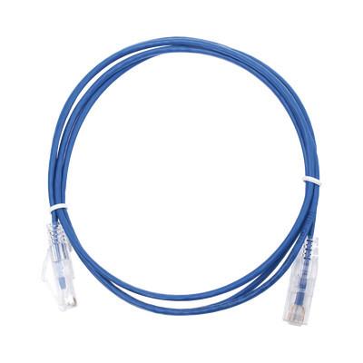 LINKEDPRO - LP-UT6-150-BU28 - Cable de Parcheo Slim UTP Cat6 - 1.5 m Azul Diámetro Reducido (28 AWG)