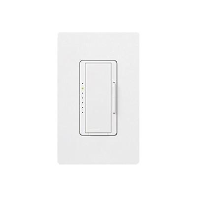 LUTRON ELECTRONICS - MAELV-800-WH-S - Maestro 800W Elec bajo color blanco.