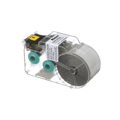 PANDUIT - S100X125VAC - Casete de 225 Etiquetas Autolaminadas de 25.4 x 31.8 mm para Cables de 3 a 7.1 mm de Diámetro Área de Impresión Color Blanco