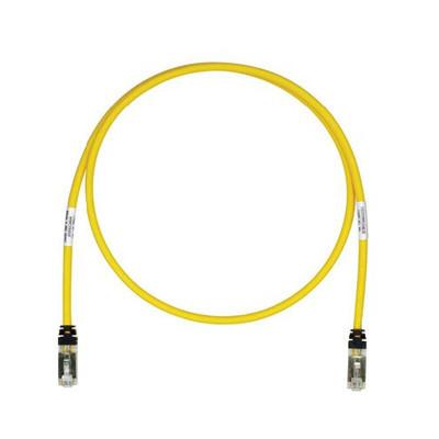 PANDUIT - STP6X5YL - Patch Cord Cat6A Blindado S/FTP CM/LS0H 5ft Color Amarillo