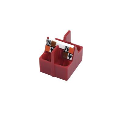 SIEMON - CPT-DIE-TMPL - Dado Guía para Preparación de cable S/FTP (Cat7A) para terminación de conectores TERA