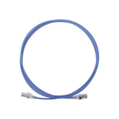 SIEMON - MC6-07-0628 - Patch Cord MC6 Modular Cat6 UTP CM/LS0H 7ft Color Azul Diámetro Reducido (28AWG)