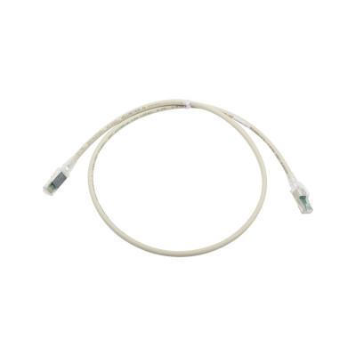 SIEMON - ZM6A-S03-04B - Patch Cord Z-MAX Cat6A S/FTP CM/LS0H 3ft Color Gris Versión Bulk (Sin Empaque Individual)