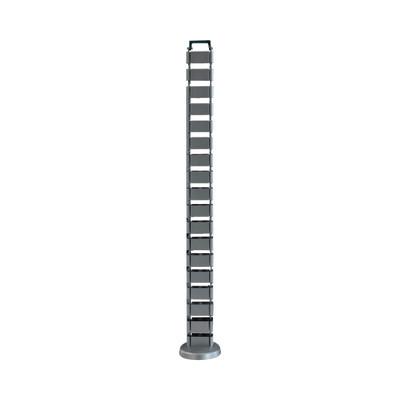 THORSMAN - ORG-VERT - Organizador de cables vertical articulado ideal para llevar los cables del piso a mesa o a la cubierta del escritorio de manera segura