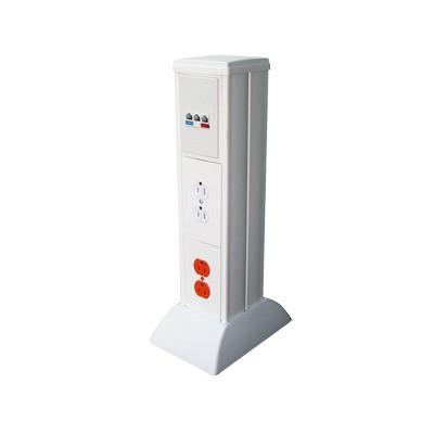 THORSMAN - TH-MIC - Mini columna para concentrar distribuir y ordenar cables de energía eléctrica o puertos de datos de telecomunicaciones (10000-01000)