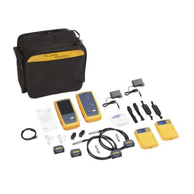 FLUKE NETWORKS - DSX2-8000INT - Certificador DSX-8000 para Cable de Cobre Cat5e Cat6 Cat6A y Cat8 Precisión de Nivel VI/2G (2 GHz) Con WiFi Integrado y Pantalla LCD de 5.7 in Versión Internacional