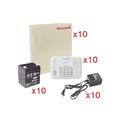 HONEYWELL HOME RESIDEO - VISTA48-KIT10 - Kit de 10 Paneles de Alarma VISTA48 con Bateria y Transformador