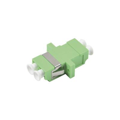 LINKEDPRO - LP-FOAD-6137 - Módulo acoplador de fibra óptica duplex LC/APC a LC/APC compatible con fibra Monomodo
