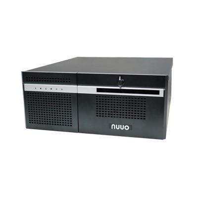 NUUO - NH4500-SPENT - Servidor robusto y potente para aplicaciones tríbridas: IP/SD-CCTV/HD-CCTV (SDI) con procesador i7 y 6 bahías para HDD
