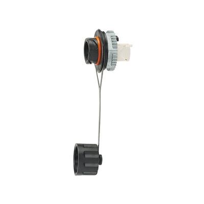 PANDUIT - IAEBH6XS - Conector Jack RJ45 de Uso Industrial Estilo TG Blindado Categoría 6A Con Tapa Protectora Protección IP67