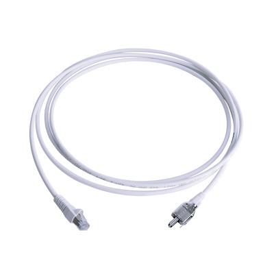 SIEMON - T2E2-02M-B02L - Patch Cord TERA Cat5e 10/100BASE-T de 2 pares y conector modular LS0H Color Blanco 2 metros