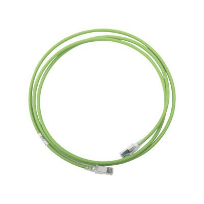 SIEMON - ZM6A-S07-07 - Patch Cord Z-MAX Cat6A S/FTP CM/LS0H 7ft Color Verde