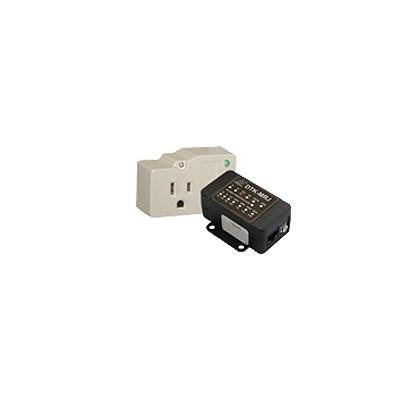 DITEK - DTKAPK1 - Kit de protección para el panel de control de seguridad protege la alimentación y el marcador telefónico.