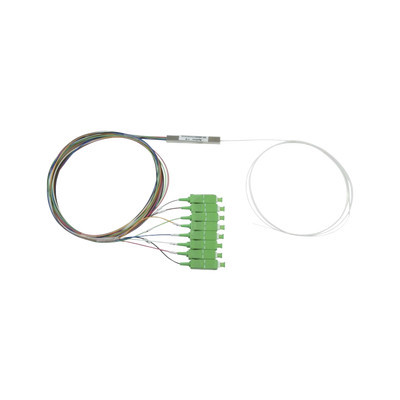 FIBERHOME - PLC-108-SCAPC - Splitter (Divisor Óptico) tipo PLC de 1x8 conectores SC/APC de salida