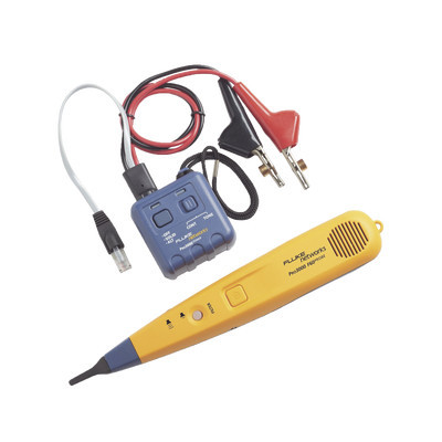 FLUKE NETWORKS - PRO3000F60-KIT - Generador y Sonda (Detector) de Tonos PRO3000? Con Filtrado de Señales a 60Hz Para Identificación de Señales Analogicas en Cableado Inactivo