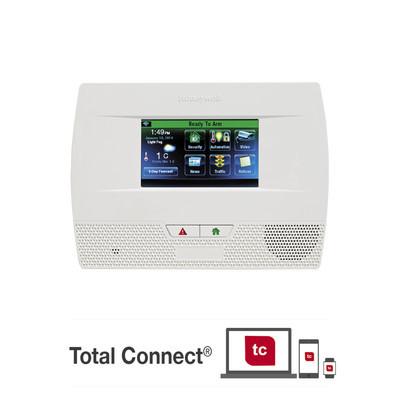HONEYWELL HOME RESIDEO - L5210-PK-S - Panel de Alarma Inalambrico Autocontenido con Pantalla Touch L5210 integrable a casa inteligente usando servicio de Total Connect