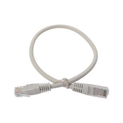 LINKEDPRO - LPUT6040CS - Cable de parcheo UTP cruzado Cat6 0.4 m - Gris