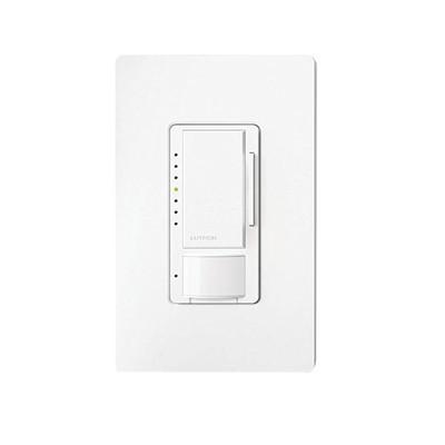 LUTRON ELECTRONICS - MSCL-OP153M-WH - Atenuador / Linea Maestro multilocación / un solo polo 120/600W color blanco.