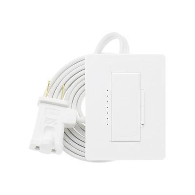 LUTRON ELECTRONICS - RRD-3LD-SW - Adaptador dimmer de sobremesa plug-in para lámpara 120VCA/300W y 200W.