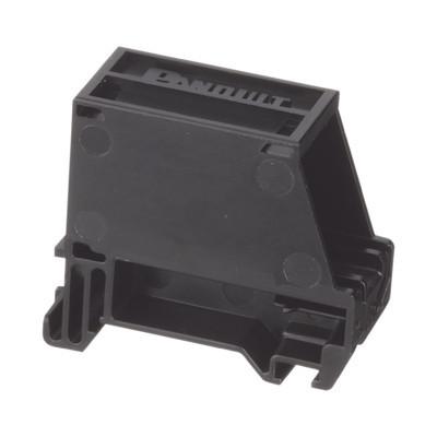 PANDUIT - CADIN1BL - Adaptador de 1 Puerto Para Conectores Tipo Mini-Com Montaje en Riel Din Estándar de 35mm Color Negro