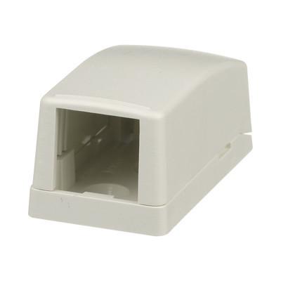 PANDUIT - CBX1IW-A - Caja de Montaje en Superficie Para 1 Módulo Mini-Com Color Blanco Mate
