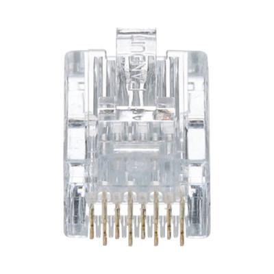 PANDUIT - MP588-L - Plug RJ45 Cat5e Para Cable UTP de Calibres 24-26 AWG Chapado en Oro de 50 micras Bolsa de 50 piezas