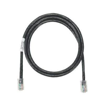 PANDUIT - NK5EPC3BLY - Cable de parcheo UTP Categoría 5e con plug modular en cada extremo - 1 m. - Negro