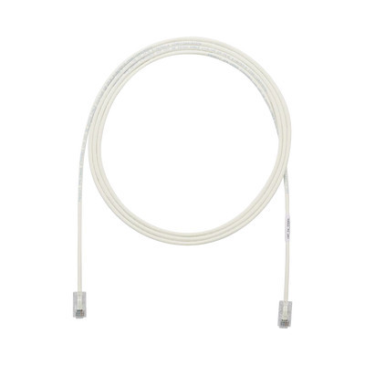 PANDUIT - UTP28X15 - Cable de Parcheo UTP Cat6A CM/LSZH Diámetro Reducido (28AWG) Color Blanco Mate 15ft