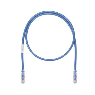 PANDUIT - UTP6ASD7BU - Cable de Parcheo UTP Cat6A 26 AWG CM Color Azul 7ft