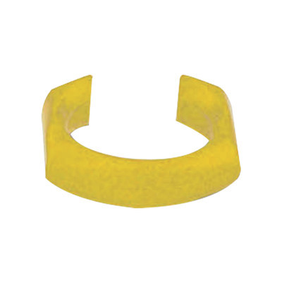 SIEMON - CLIP-05 - Clip de identificación para Patch Cord Siemon Color Amarillo Bolsa con 25 piezas