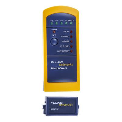 FLUKE NETWORKS - MT-8200-49A - Probador de Mapa de Cableado MicroMapper? para Verificar Rápida y Fácilmente la Integridad del Cableado de Par trenzado de Ethernet