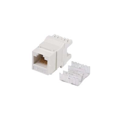 LINKEDPRO - LP-KJ-549-WH - Módulo Jack Keystone Cat5e con terminación en ángulo 180 º Color Blanco