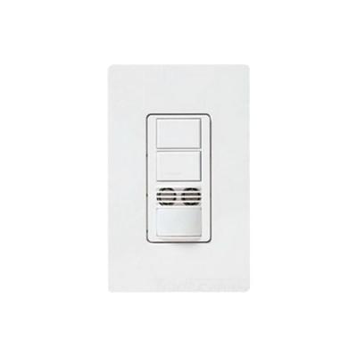 LUTRON ELECTRONICS - MS-B202-WH - Interruptor con Sensor de Ocupación Doble Tecnología Para Detección de Movimiento Color Blanco