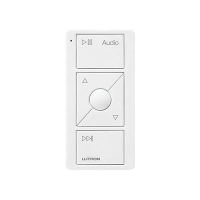 LUTRON ELECTRONICS - PJ23BRLGWHA02 - Control PICO 3 botones control de audio integrable con SONOS u otras marcas.