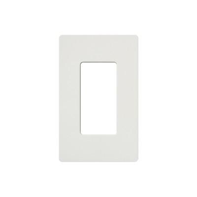 LUTRON ELECTRONICS - SC1SW - Placa de pared 1 espacio para atenuador (dimmer) apagador ó control remoto inalámbrico LUTRON.