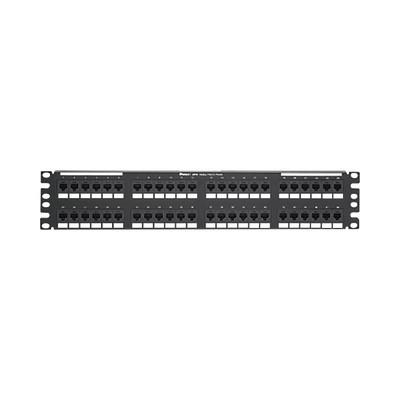 PANDUIT - DP486X88TGY - Panel de Parcheo de Impacto (110) Plano Categoría 6A de 48 Puertos 2UR
