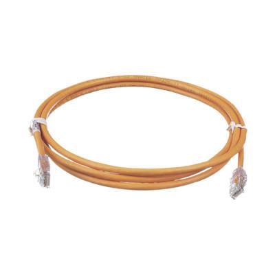 PANDUIT - UTPSP7ORY - Cable de Parcheo TX6 UTP Cat6 24 AWG CM/LSZH Color Naranja 7ft