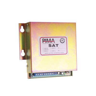 PIMA - SAT9-PID - Interface universal de conversión vía radio para paneles que soporte formato CONTACT ID. Compatible receptora SENTRYRADIO de PIMA