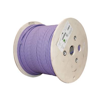 SIEMON - 9T7L4-E10 - Bobina de Cable Blindado S/FTP de 4 pares Cat7A Inmune a Ruido e Interferencias LS0H (Bajo humo Cero Halógenos) Color Violeta 305 m