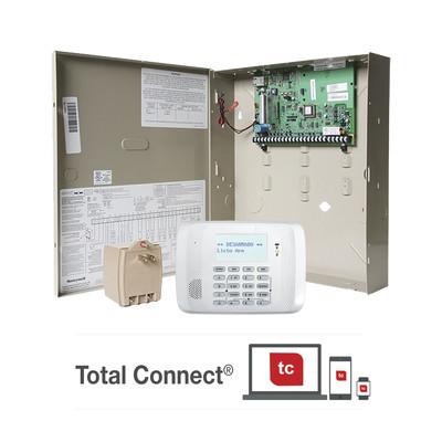 HONEYWELL HOME RESIDEO - VISTA21IP/6162RF - Panel de Alarma Residencial/Comercial VISTA 21IP con Módulo IP incluído para conexión a AlarmNet y Teclado Alfanumerico con Receptor Inalambrico 6162RF