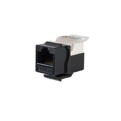 LINKEDPRO - LP-KJ-516-BK - Módulo Jack Keystone Cat5e sin Herramienta (toolless) para faceplate - Color Negro