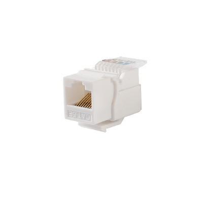 LINKEDPRO - LP-KJ-516-WH - Módulo Jack Keystone Cat5e sin herramienta (toolless) para faceplate - Color Blanco
