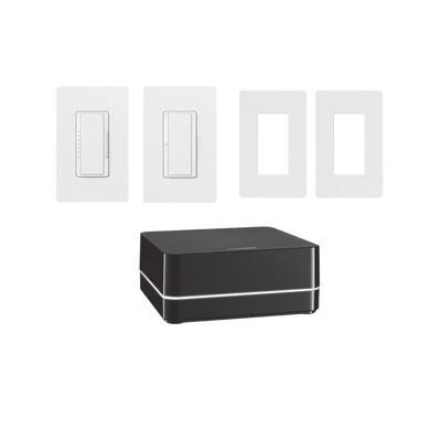 LUTRON ELECTRONICS - KITRA2SELECT1 - Kit de RA2 Select para el control de iluminación. inicie su proyecto con LUTRON fácil de instalar y programar.